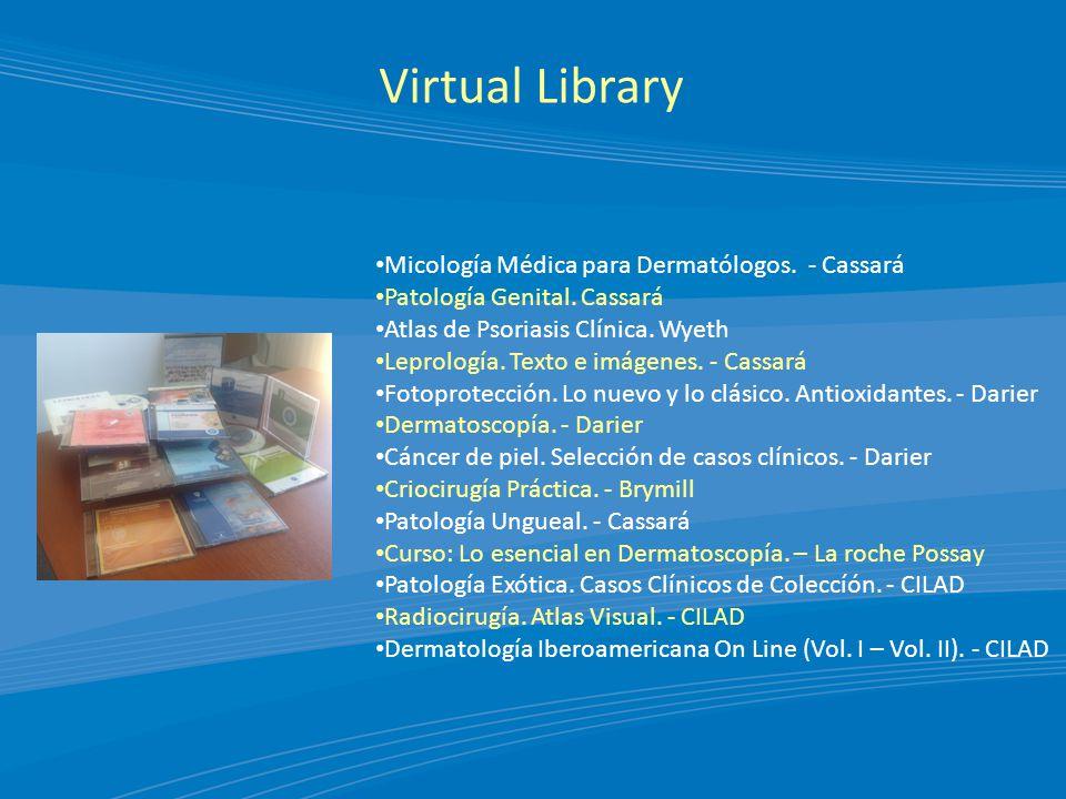 Virtual Library Micología Médica para Dermatólogos. - Cassará