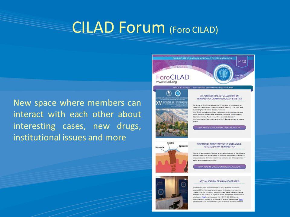 CILAD Forum (Foro CILAD)