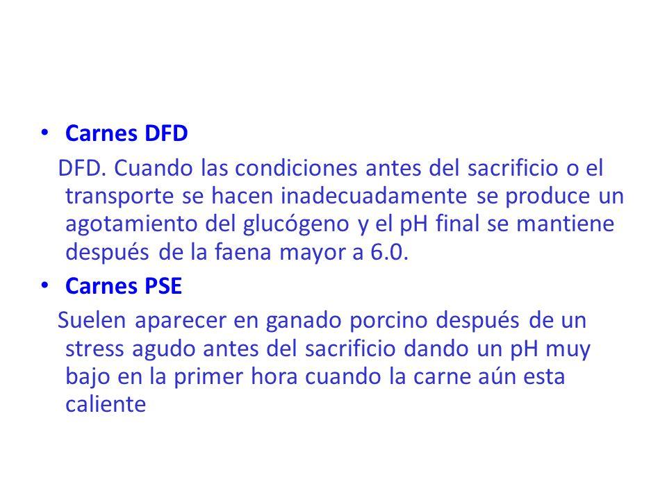 Carnes DFD