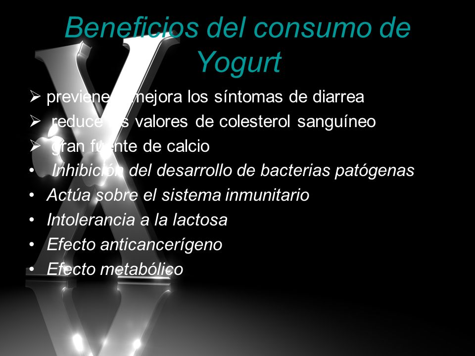 Beneficios del consumo de Yogurt