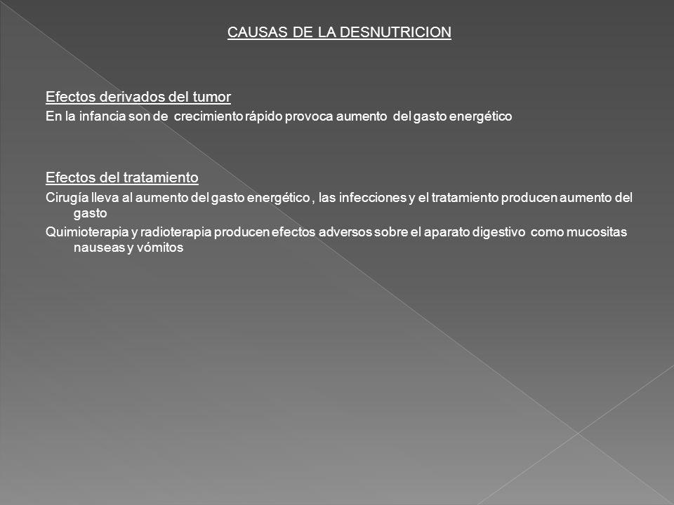 CAUSAS DE LA DESNUTRICION