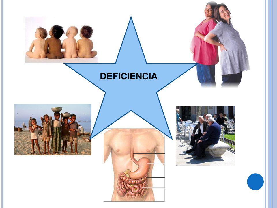 DEFICIENCIA