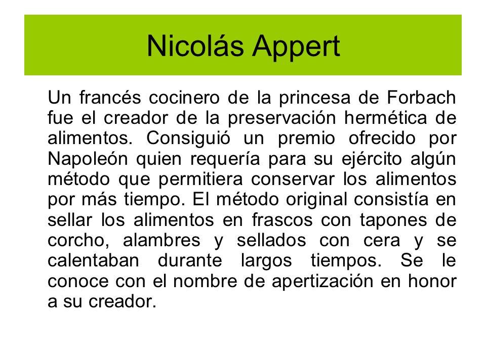 Nicolás Appert