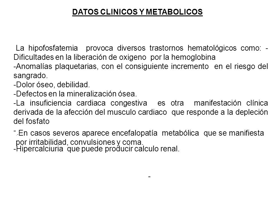 DATOS CLINICOS Y METABOLICOS