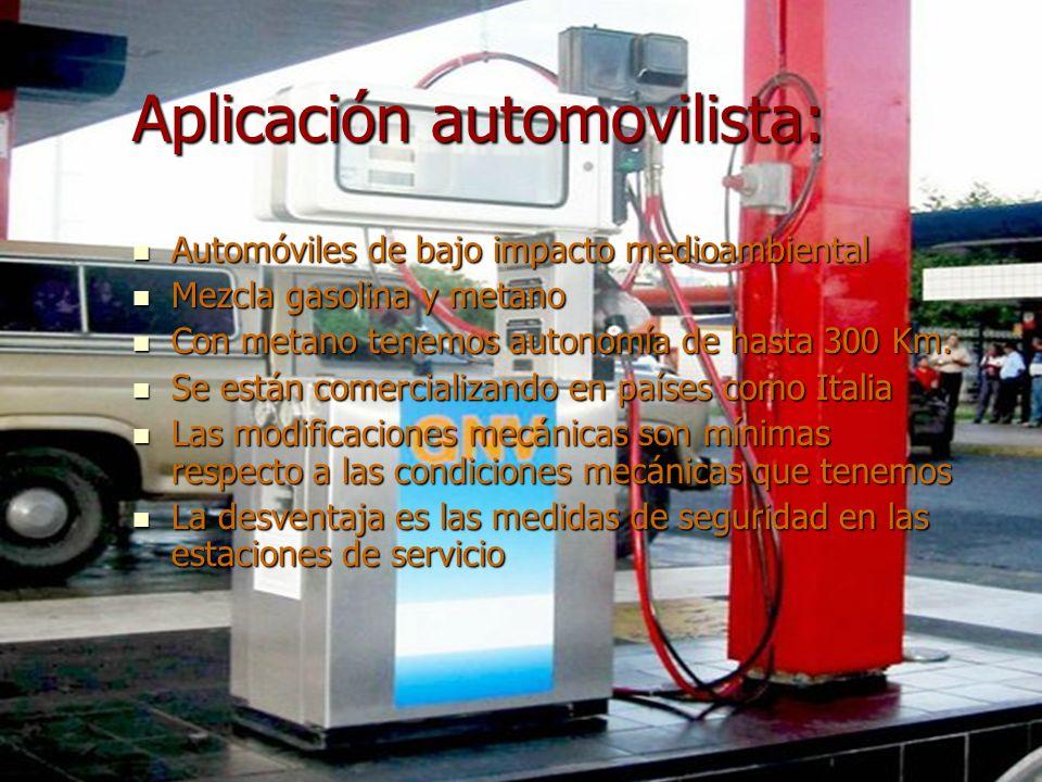 Aplicación automovilista:
