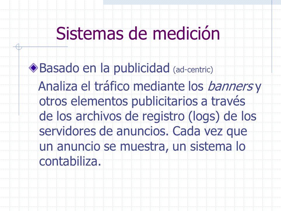 Sistemas de medición Basado en la publicidad (ad-centric)
