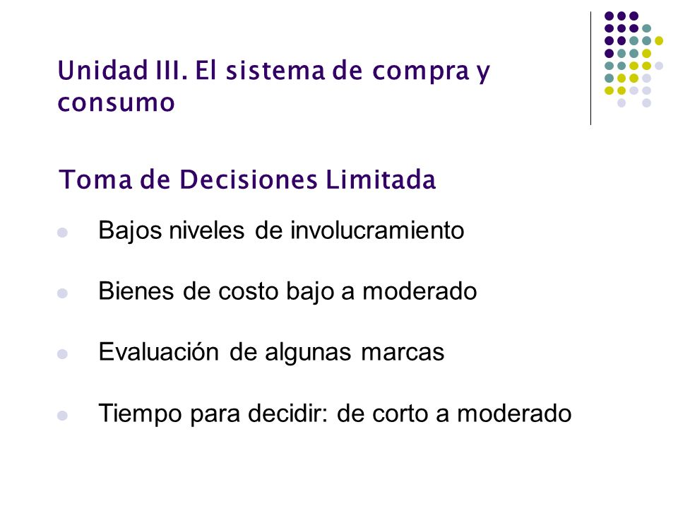 Toma de Decisiones Limitada