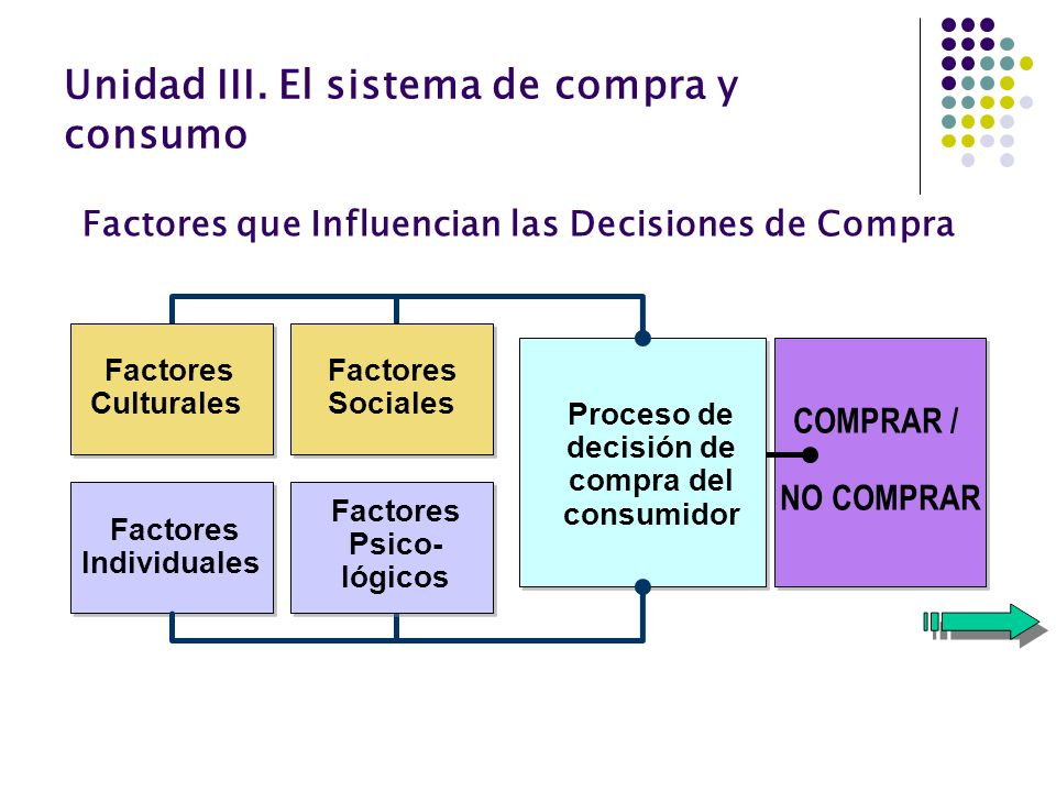 Factores que Influencian las Decisiones de Compra