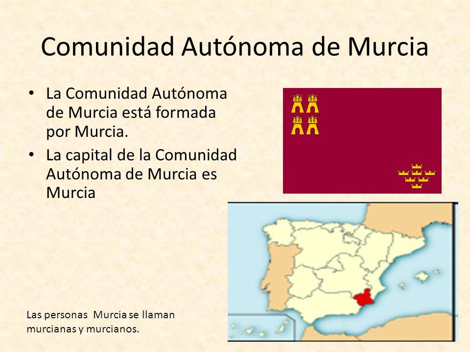 Comunidad Autónoma de Murcia