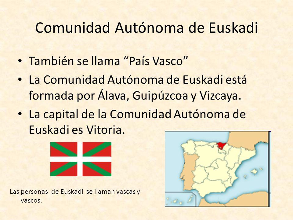 Comunidad Autónoma de Euskadi