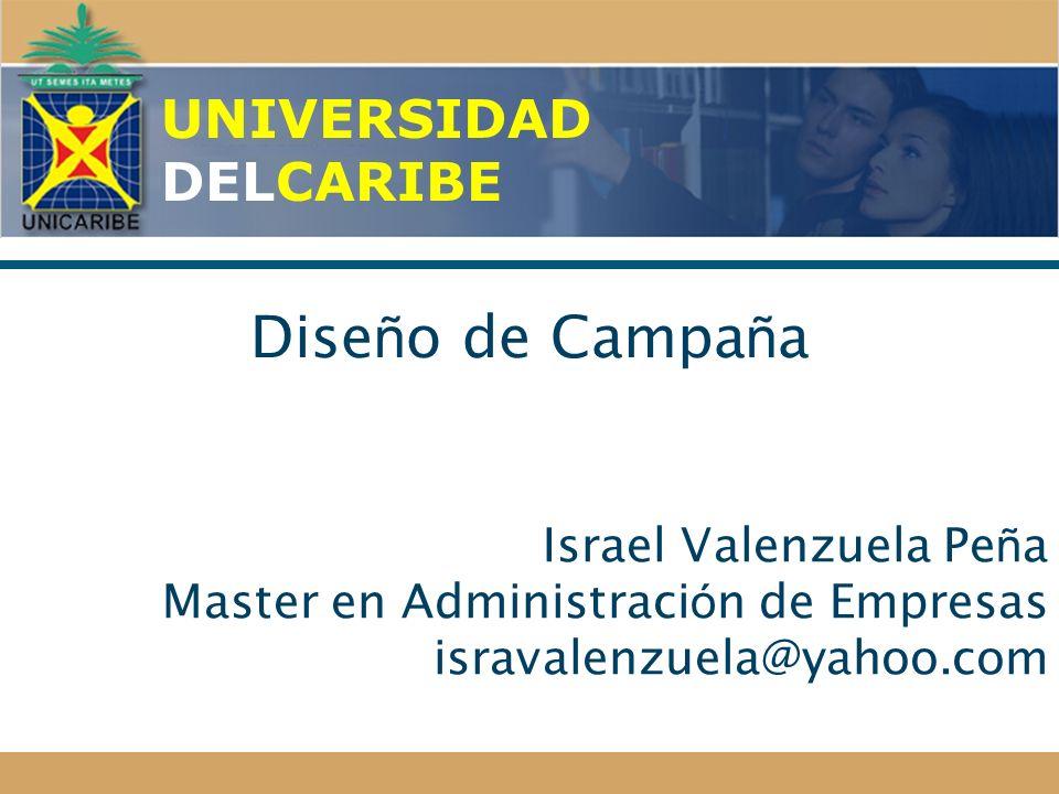 Diseño de Campaña UNIVERSIDAD DELCARIBE