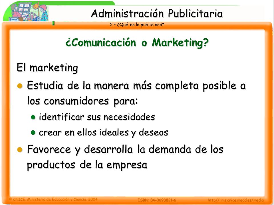 ¿Comunicación o Marketing