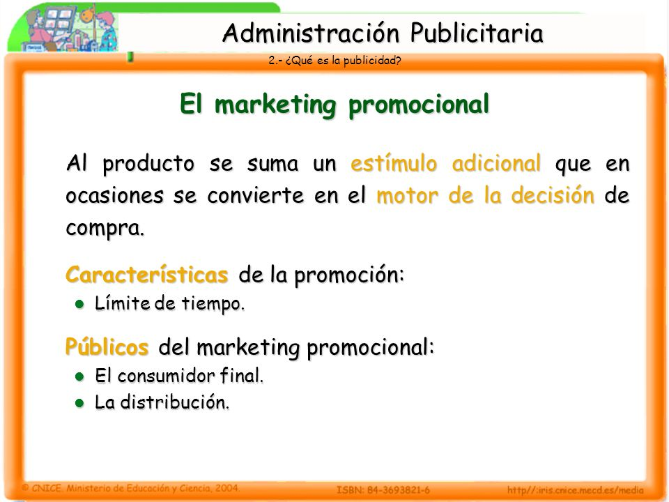 El marketing promocional
