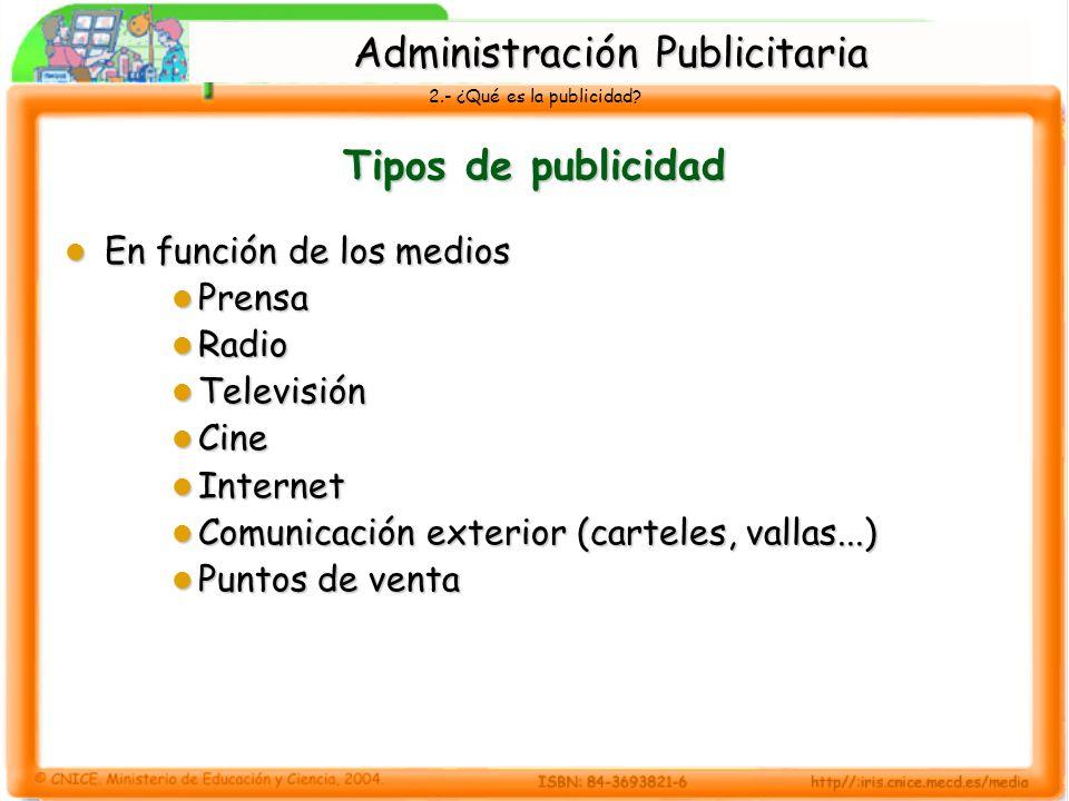 Administración Publicitaria