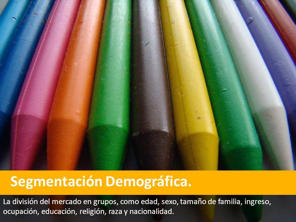 Segmentación Demográfica.