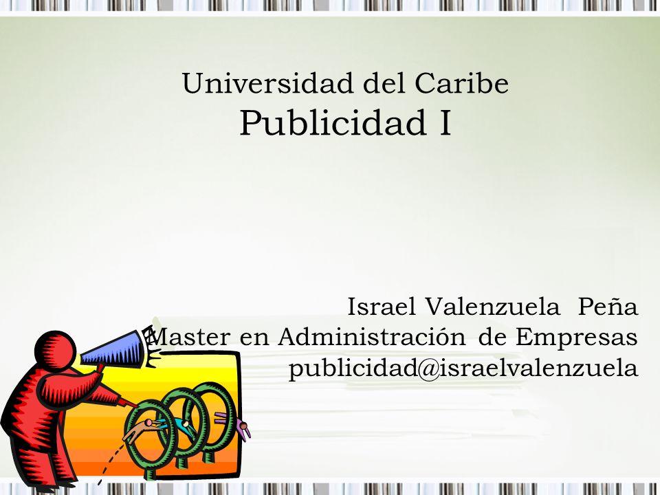 Universidad del Caribe Publicidad I
