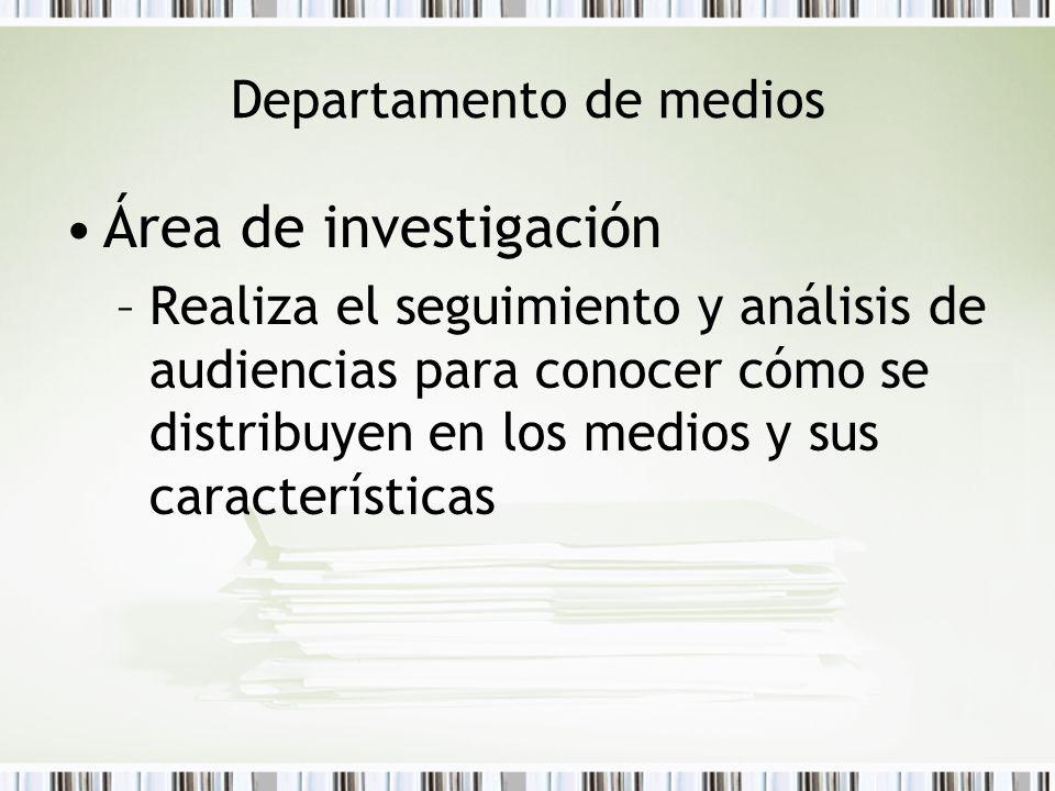 Departamento de medios