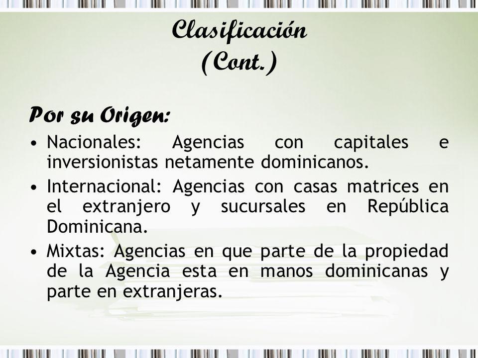 Clasificación (Cont.) Por su Origen: