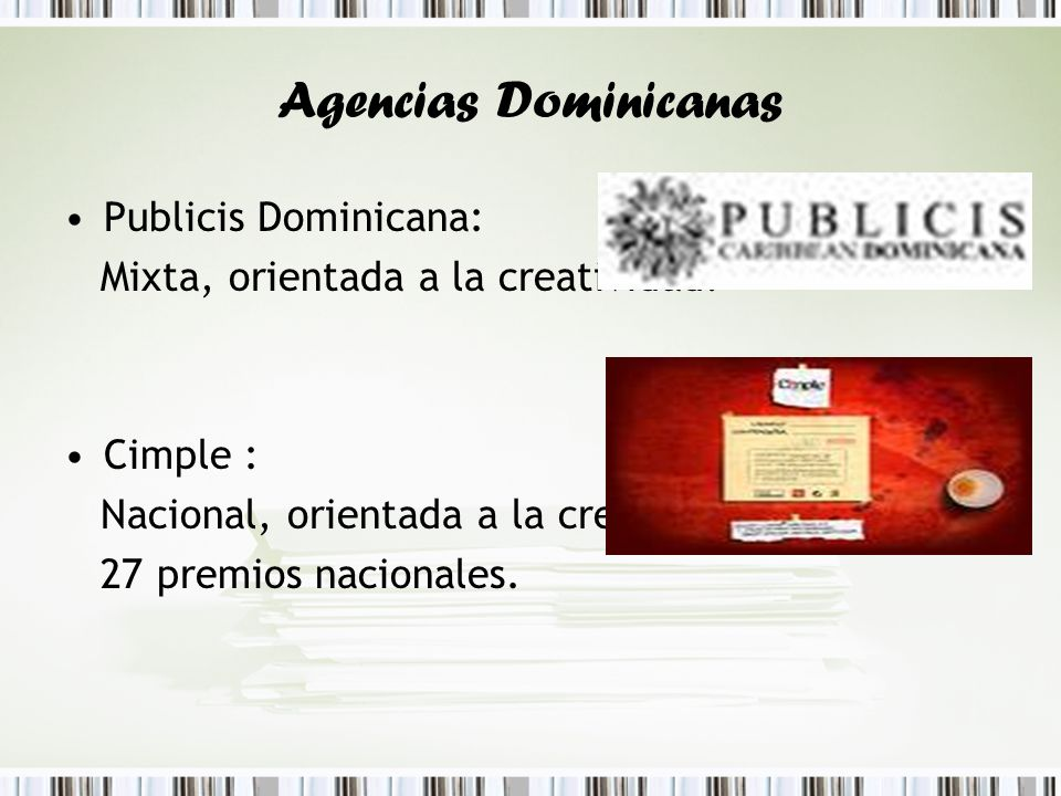 Agencias Dominicanas Publicis Dominicana: