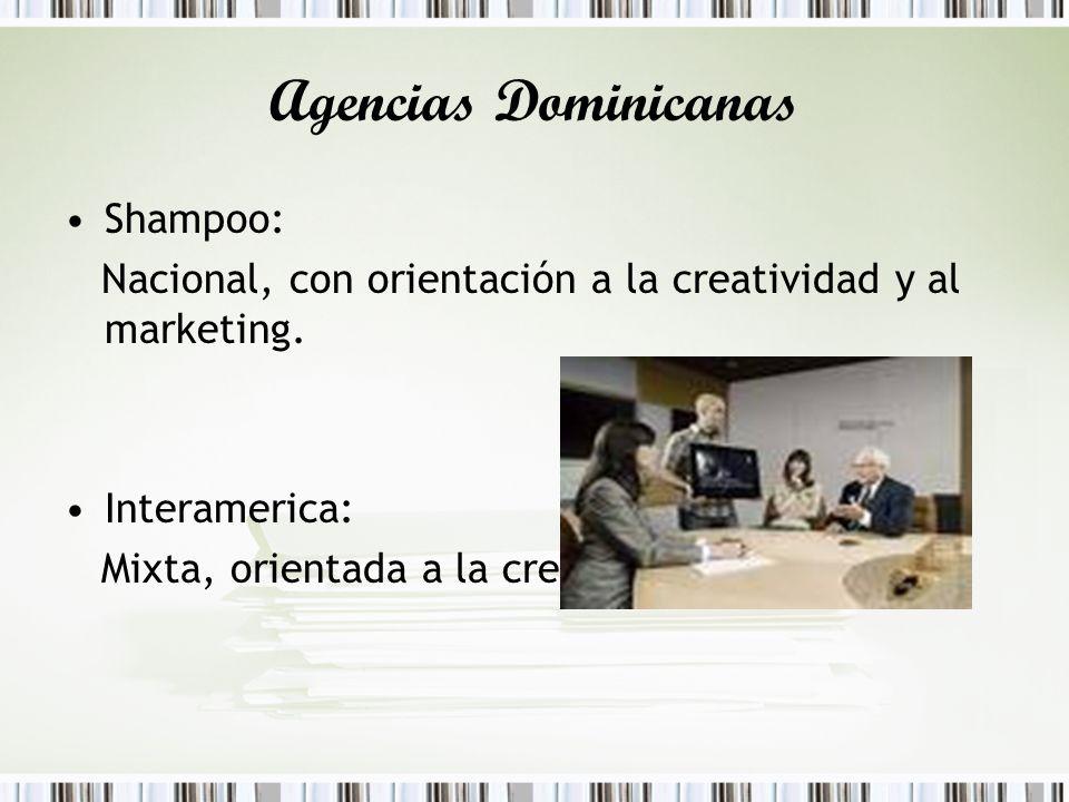 Agencias Dominicanas Shampoo: