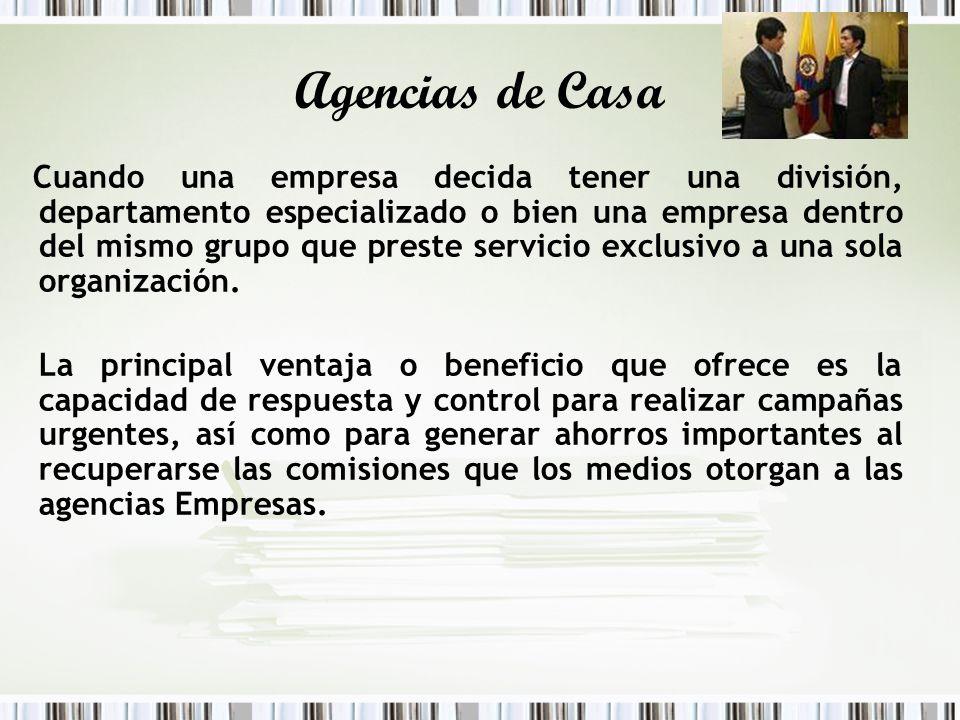 Agencias de Casa
