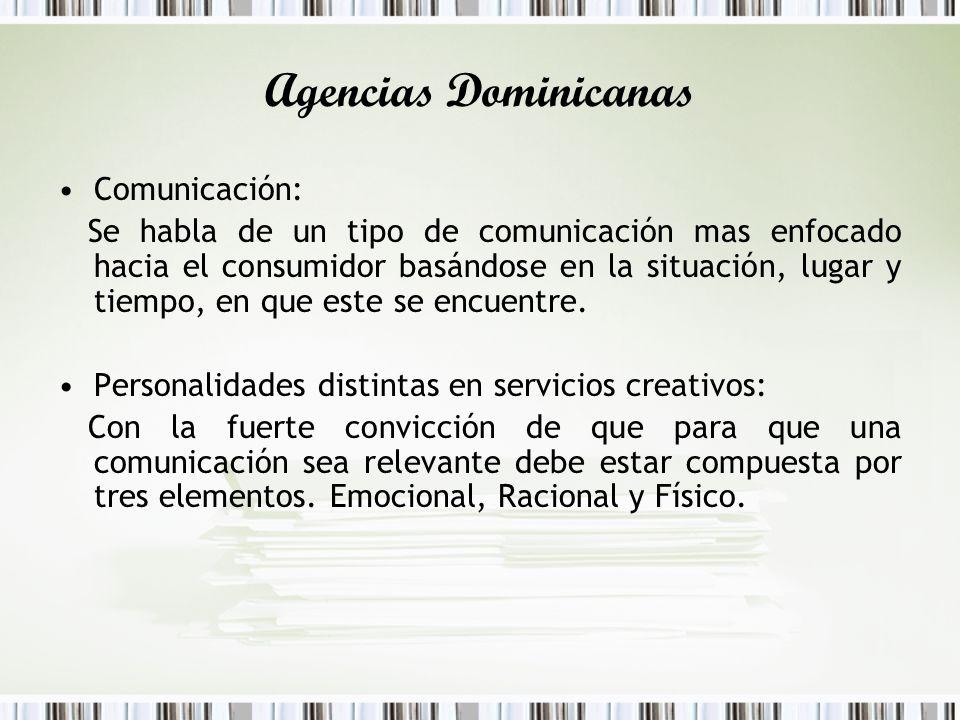 Agencias Dominicanas Comunicación: