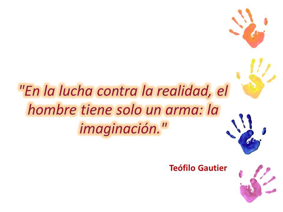En la lucha contra la realidad, el hombre tiene solo un arma: la imaginación.