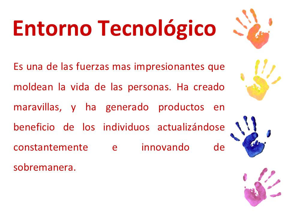 Entorno Tecnológico