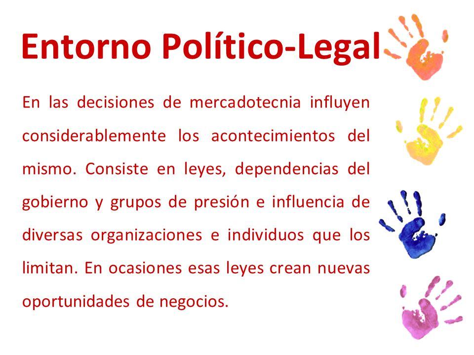 Entorno Político-Legal