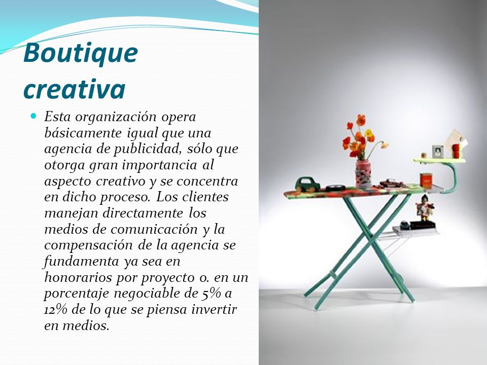 Boutique creativa