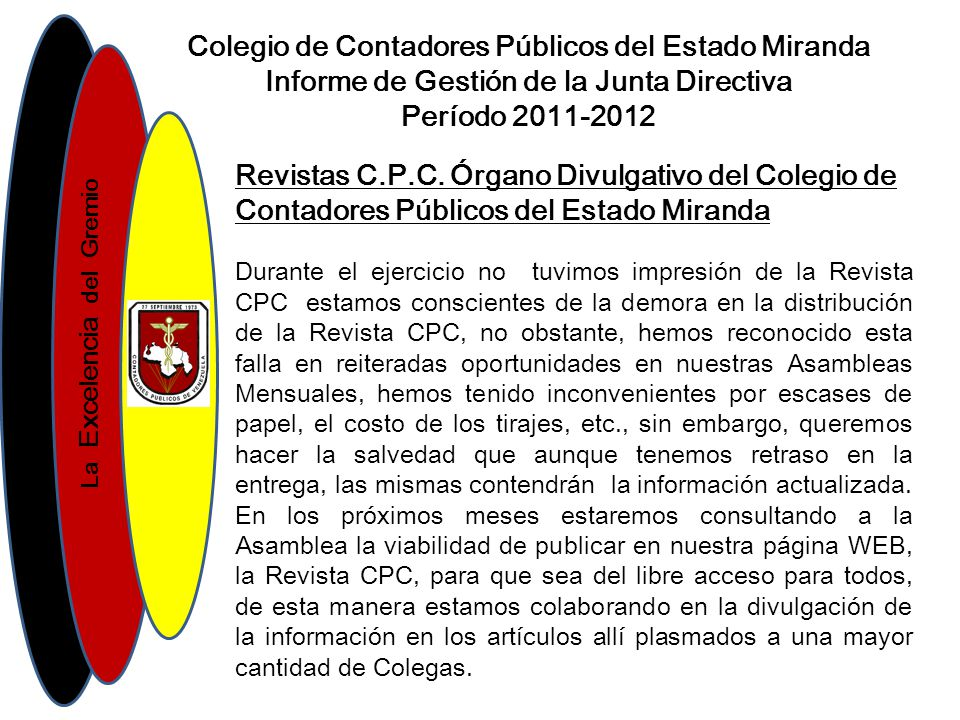 Colegio de Contadores Públicos del Estado Miranda