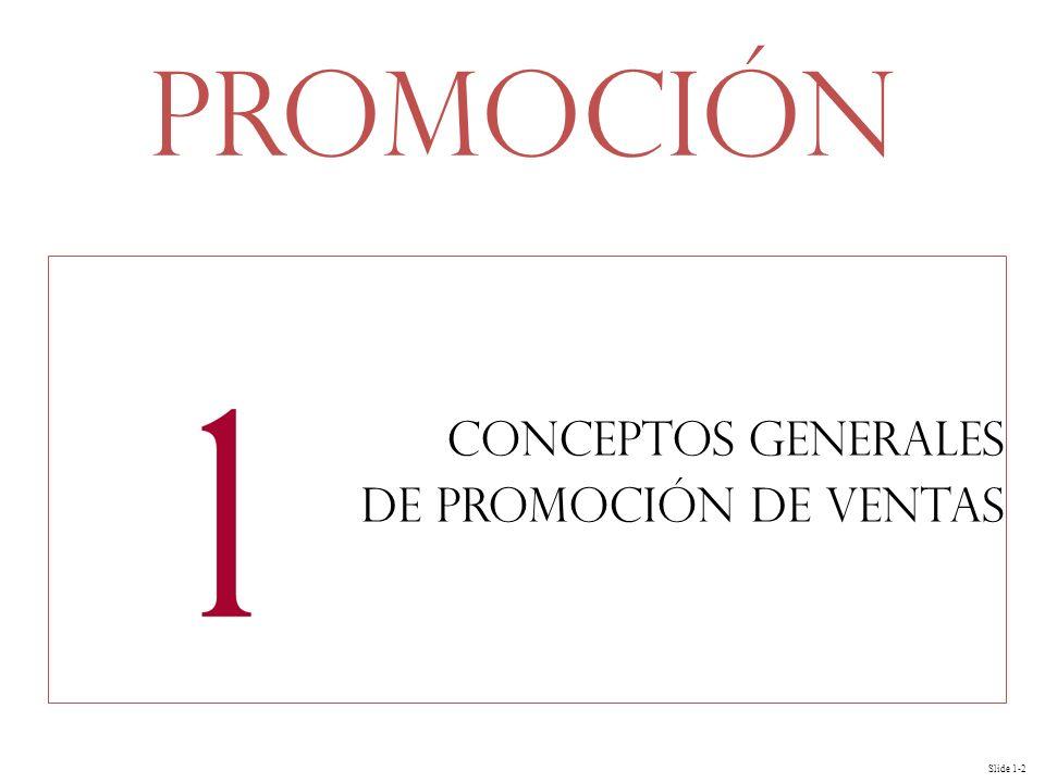 Conceptos generales de promoción de ventas