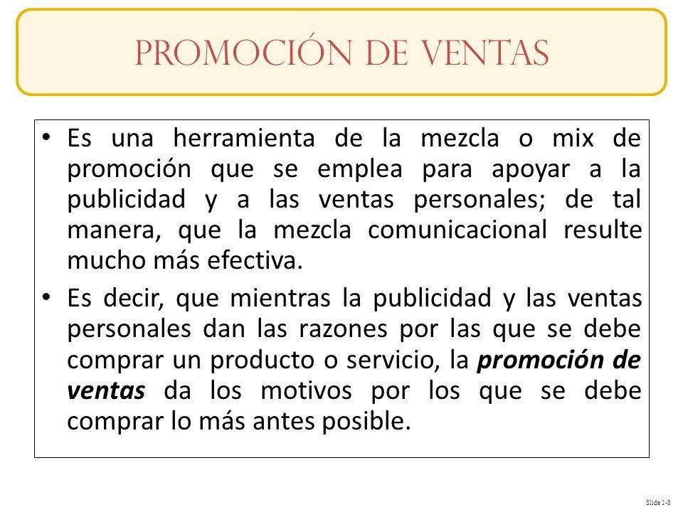 Promoción de Ventas Conceptos.