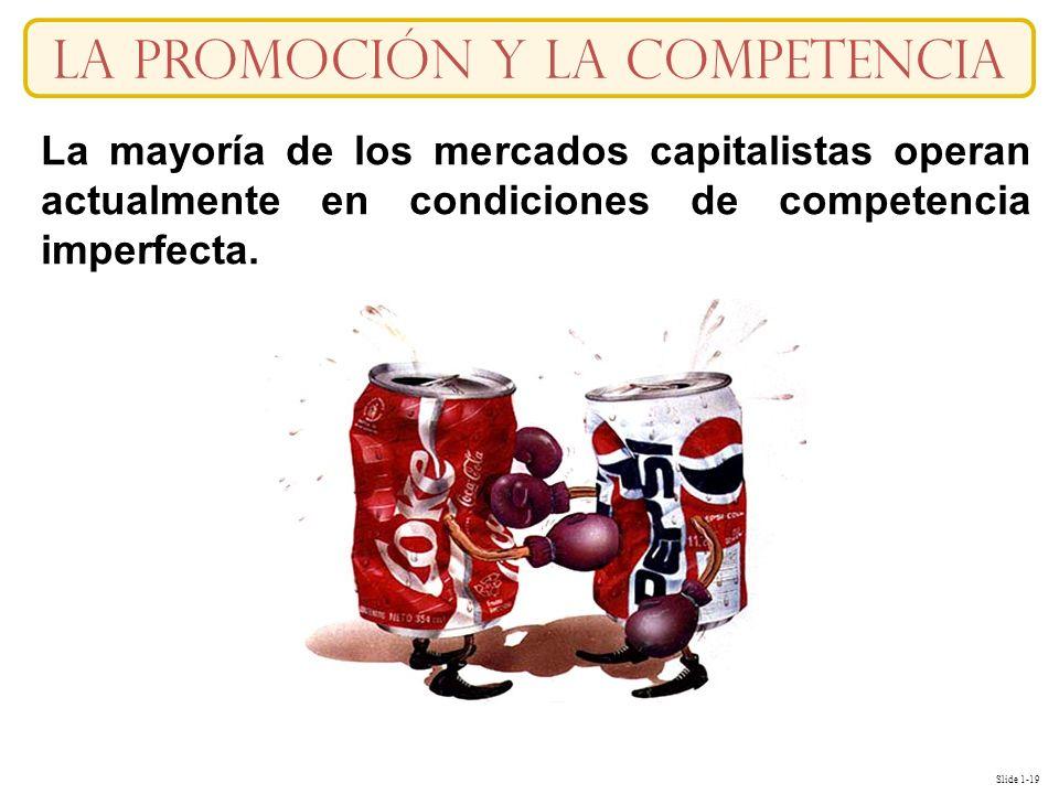 La Promoción y la competencia