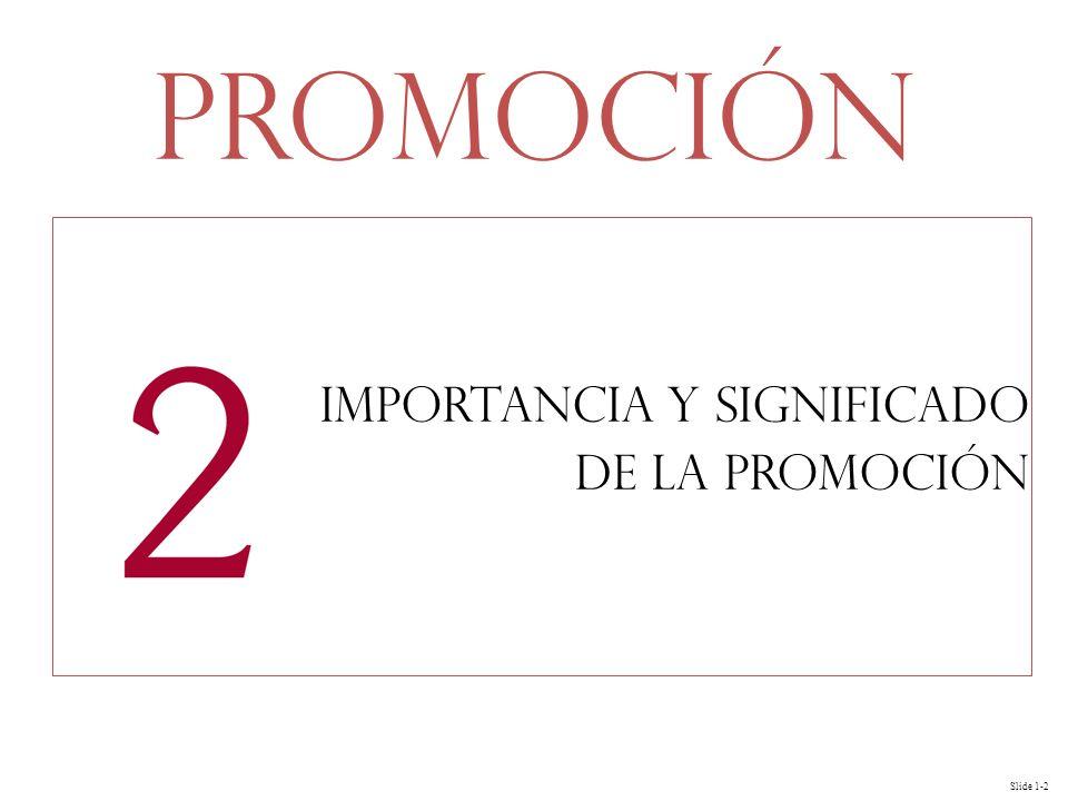 Importancia y significado de la Promoción