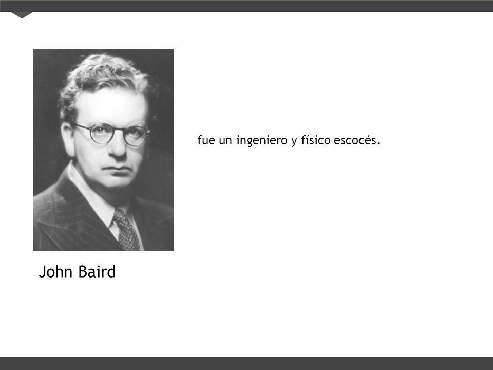 fue un ingeniero y físico escocés.
