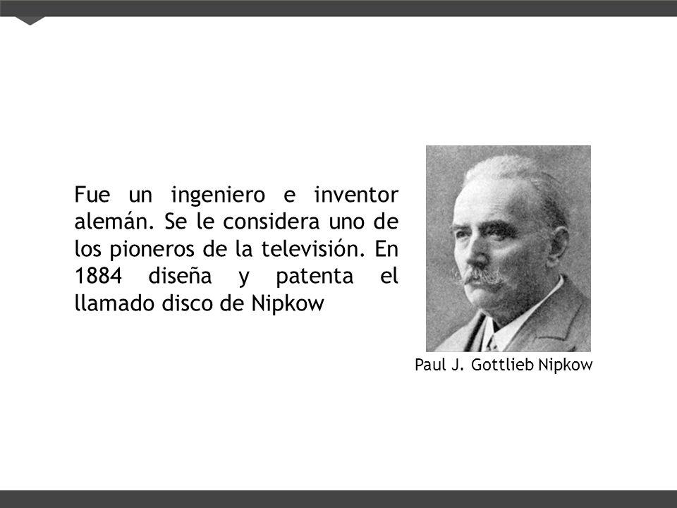 Fue un ingeniero e inventor alemán