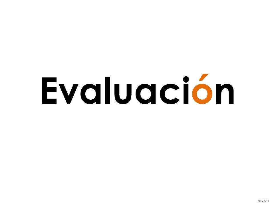 Evaluación 11