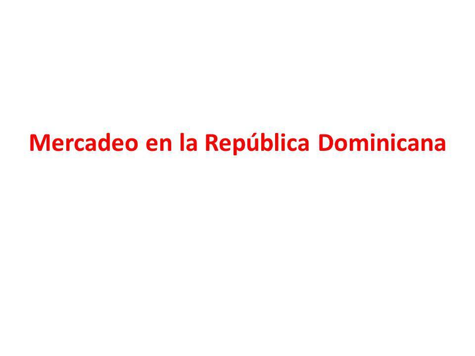 Mercadeo en la República Dominicana