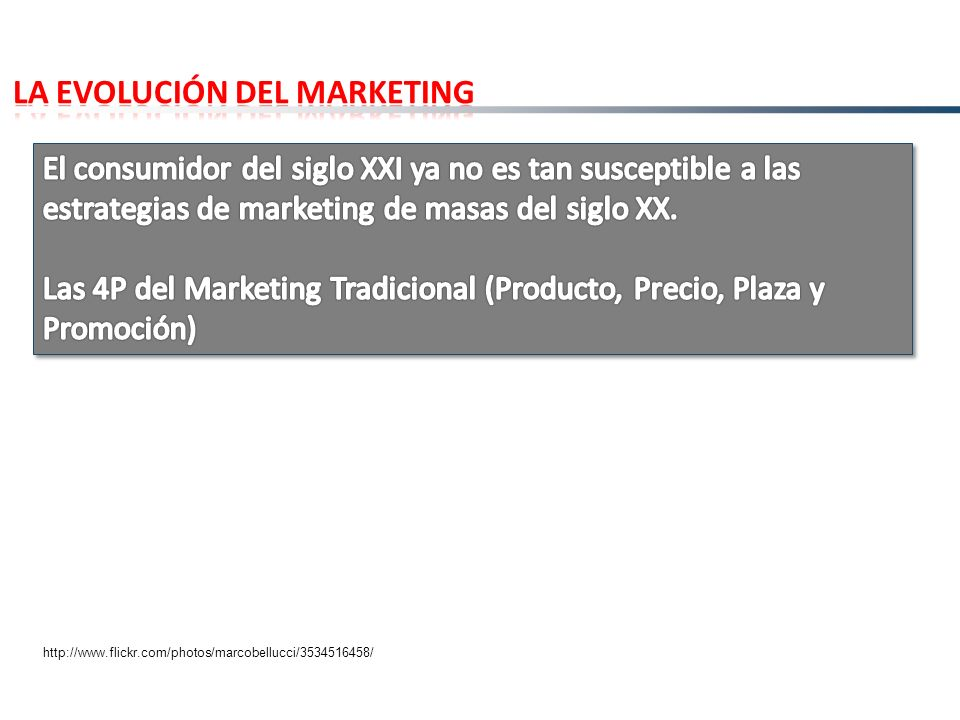 LA EVOLUCIÓN DEL MARKETING