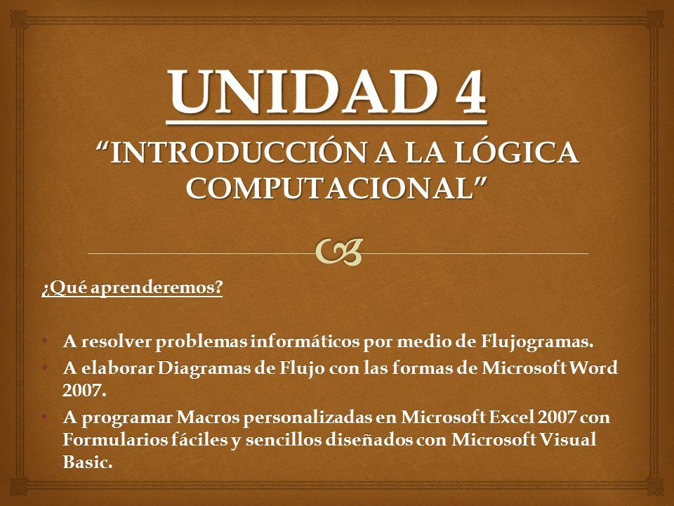 INTRODUCCIÓN A LA LÓGICA COMPUTACIONAL