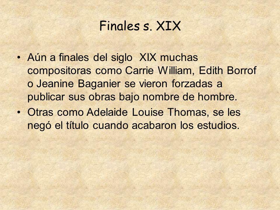 Finales s. XIX