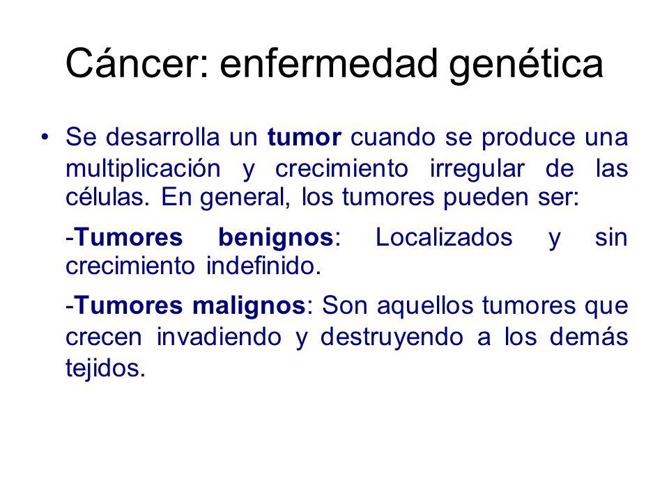 Cáncer: enfermedad genética
