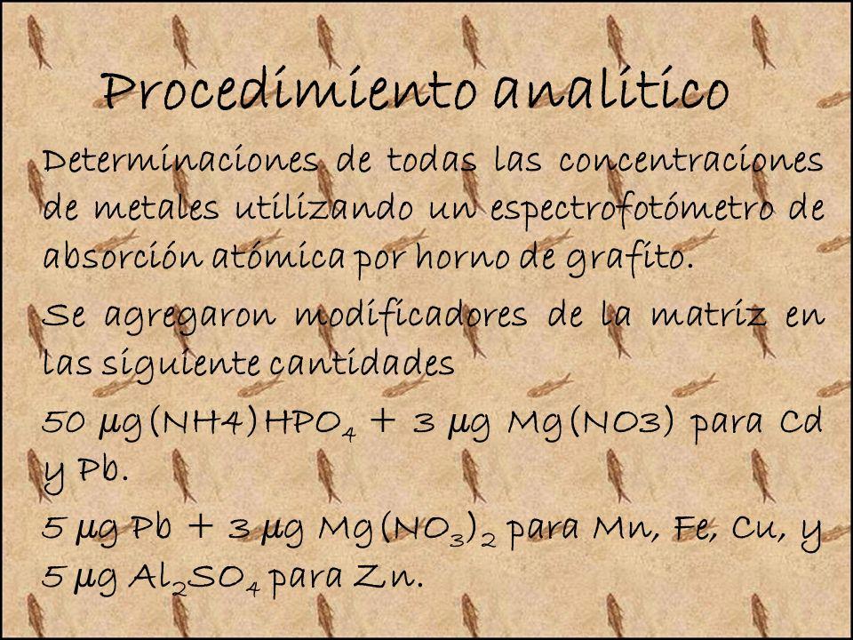 Procedimiento analitico