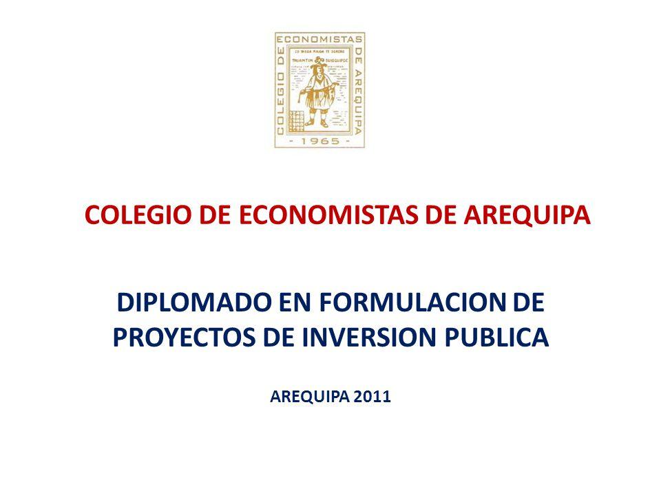 COLEGIO DE ECONOMISTAS DE AREQUIPA