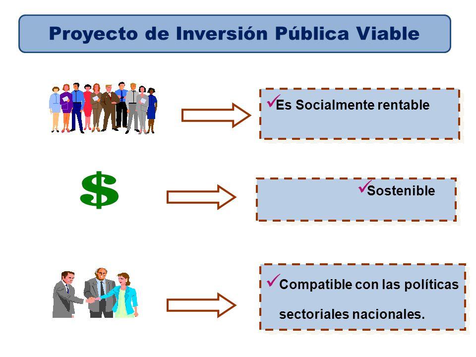 Proyecto de Inversión Pública Viable