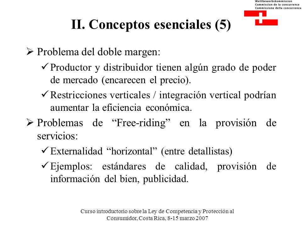 II. Conceptos esenciales (5)