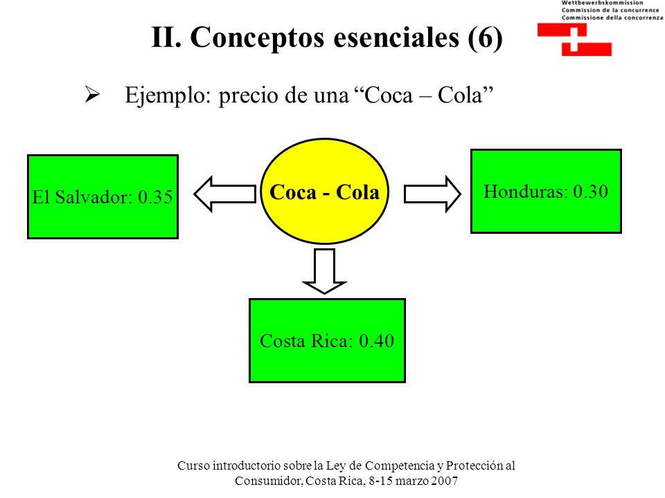 II. Conceptos esenciales (6)
