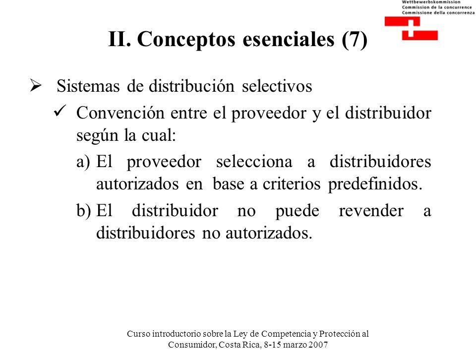 II. Conceptos esenciales (7)