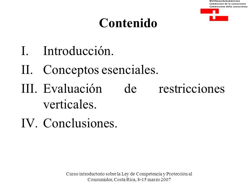 Evaluación de restricciones verticales. Conclusiones.